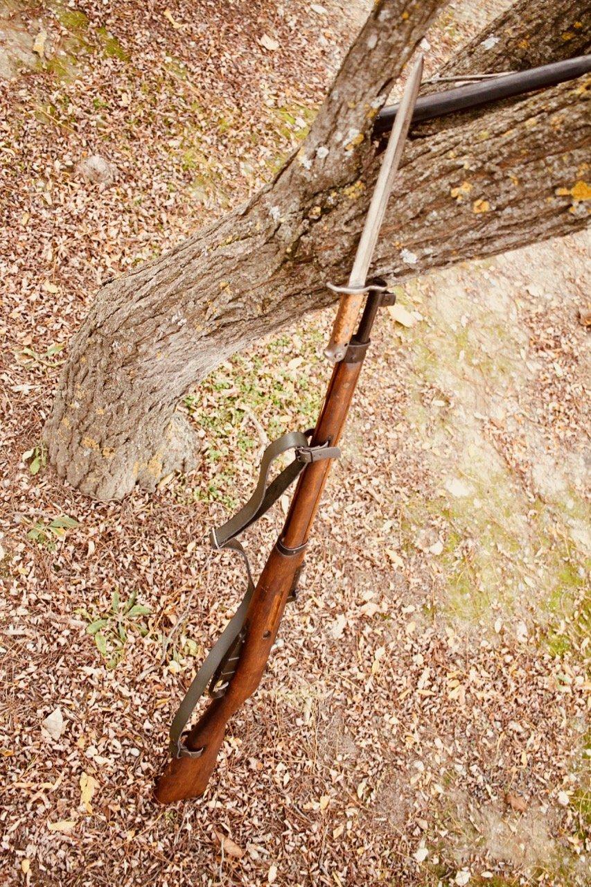 Quelques baïonnettes montées sur leurs armes - Page 12 201107011923619448