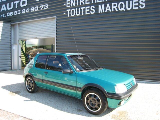 [71] 205 GTi Griffe - 122cv - AM91 - Vert Fluorite - N°985/1652 20110707201060995