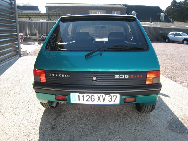 [71] 205 GTi Griffe - 122cv - AM91 - Vert Fluorite - N°985/1652 2011070720141134