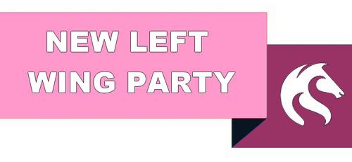 Logo New Left Wing Party - parti politique simulation Geokratos