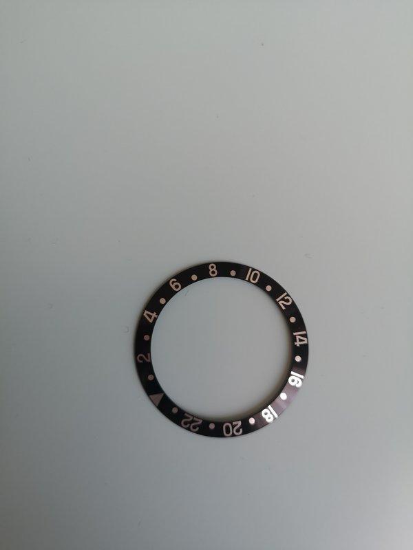 16710 - [Vendu] Insert Rolex GMT II Black Serif Fat Font 16700 - 16710 - 16760   -  249€ 201109015928246916