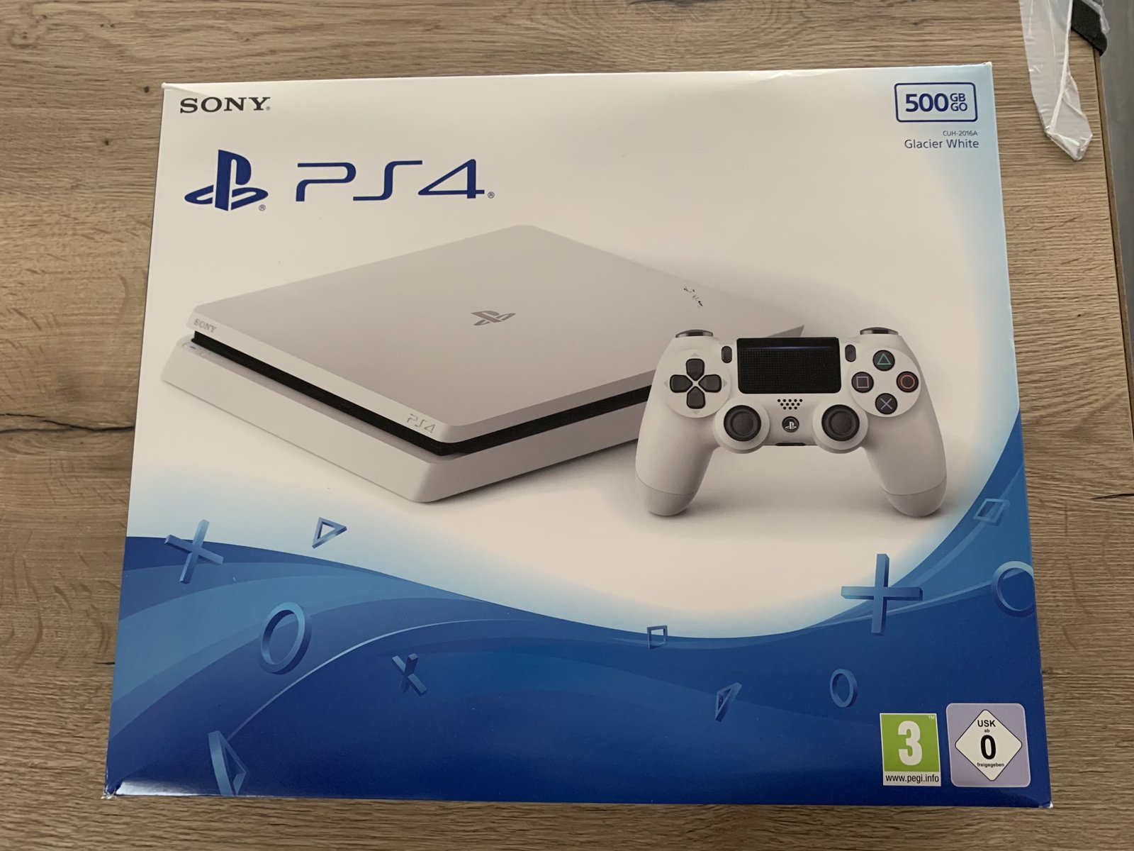 [VDS] Console Sony PS4 Slim Blanche + jeux  201111025020891481