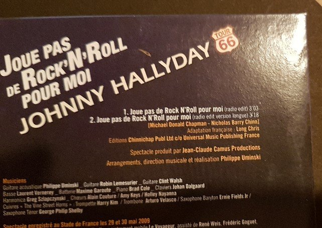 Les cd singles  version Edits 201114115313652395