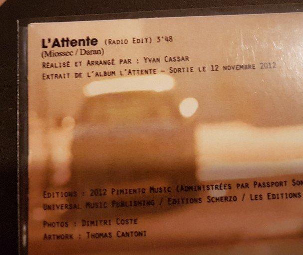 Les cd singles  version Edits 201114115458391912