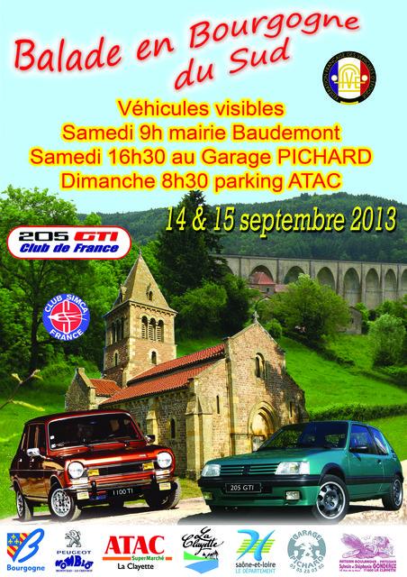 [71] Balade en Bourgogne du Sud 14 - 15 septembre 2013 201118085327569470