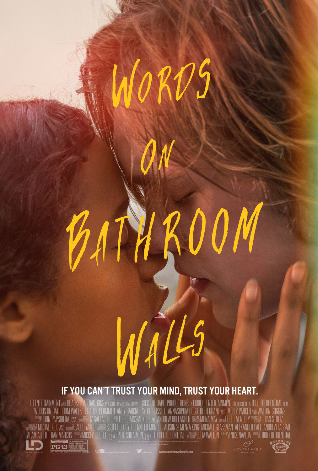Words on Bathroom Walls poster image