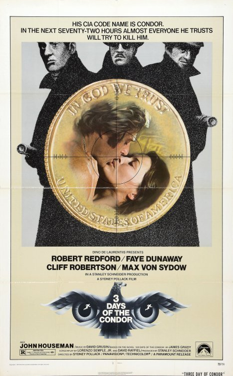 Three Days of the Condor poster image