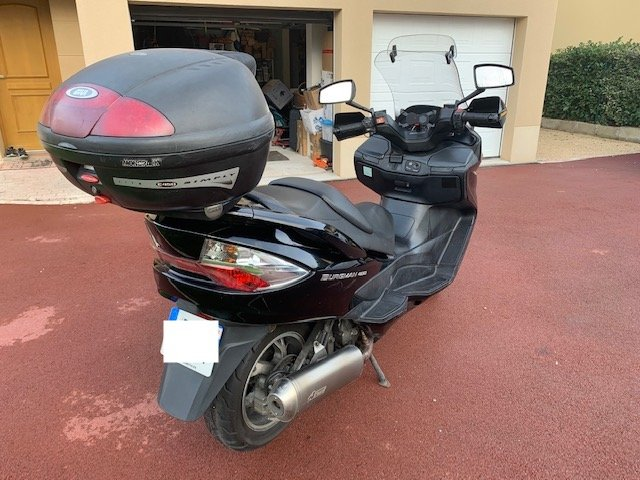 Vends Burgman 400 2007 64880km 201120061801289106