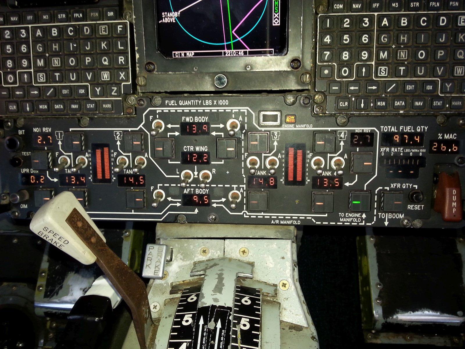 kc 135 fuel panel 1