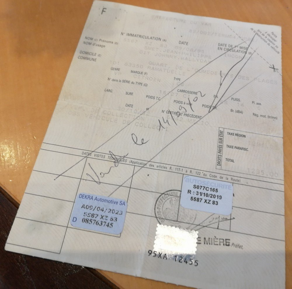 ROD FORD 32 HI-TECH DE JOHNNY HALLYDAY ( 1995 ) 201122035702628161