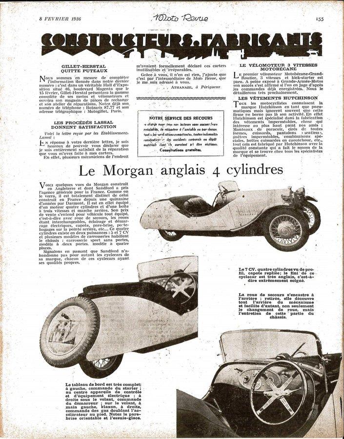 présentation Morgan F 8 février 1936