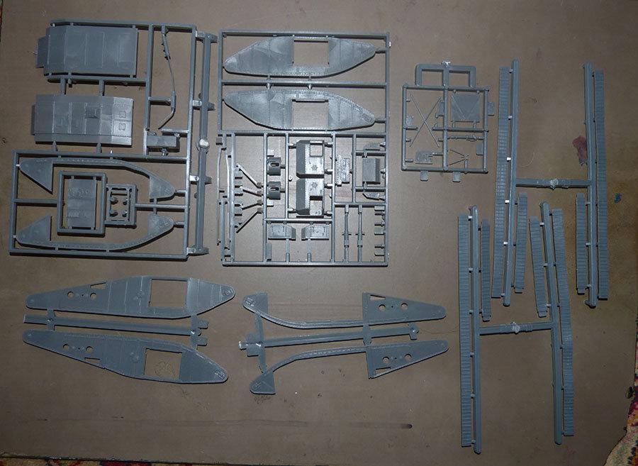 """From the box - Char Mk IV """"Tadpole"""" - Emhar - 1/72 *** Terminé en pg 2 201123115800737095"""