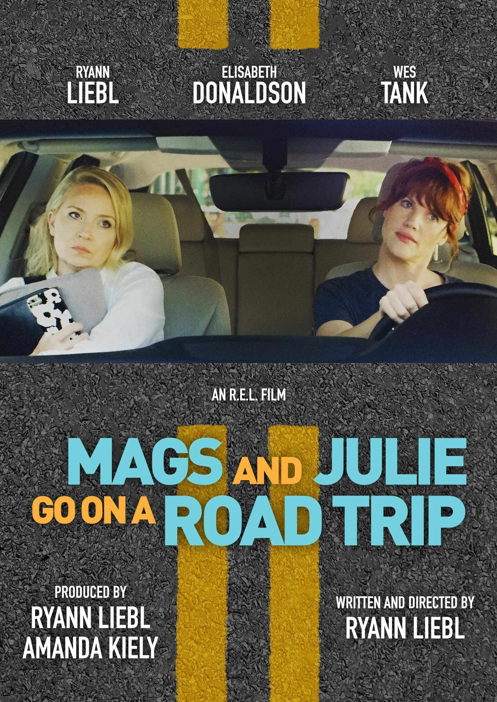 Mags and Julie Go on a Road Trip. poster image