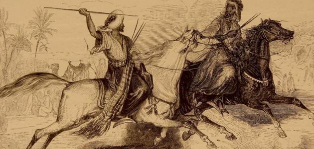 La Guerre de Dahis et Ghabra - حرب داحس و الغبراء dans Histoire 201125093354940413