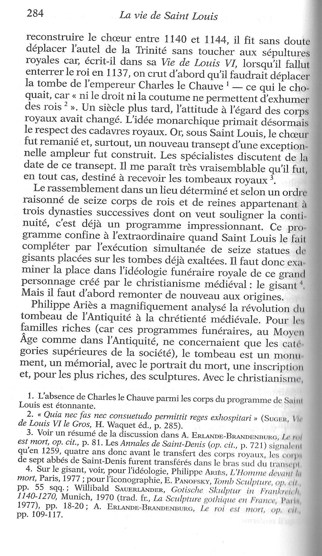Le programme funéraire de Louis IX 201126022328913471