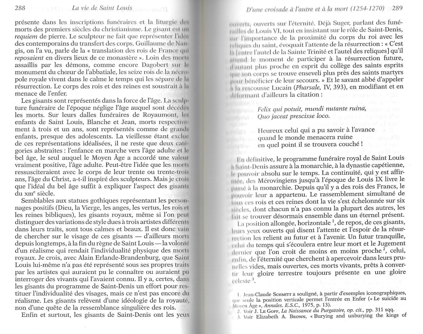 Le programme funéraire de Louis IX 201126022329888693