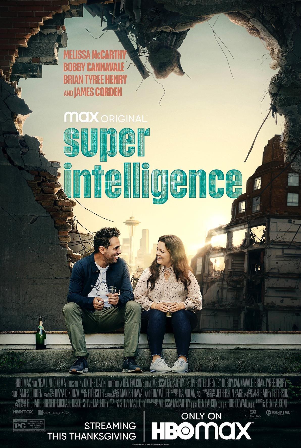 Superintelligence poster image