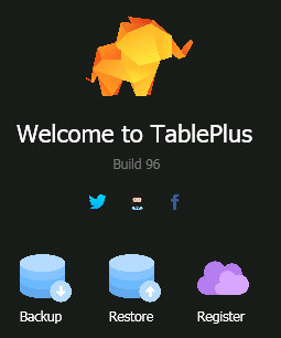 Poster for TablePlus
