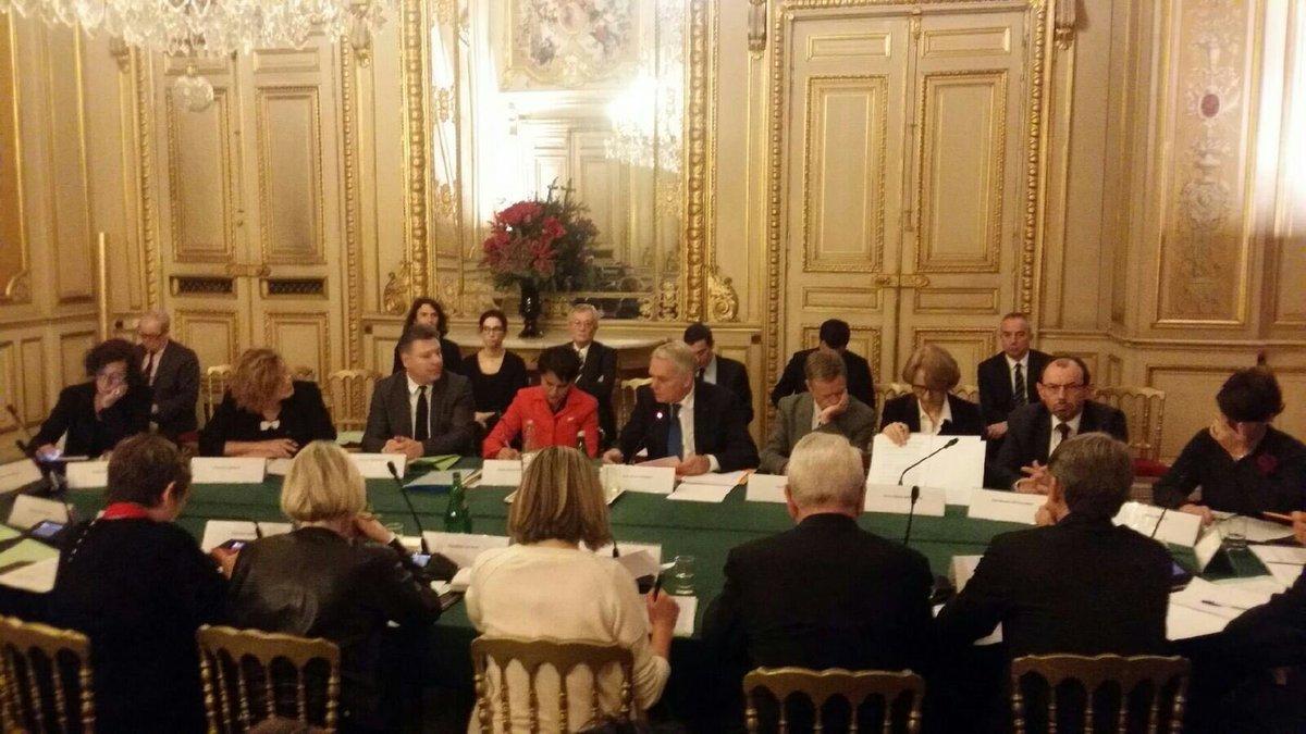 réunion des ministres