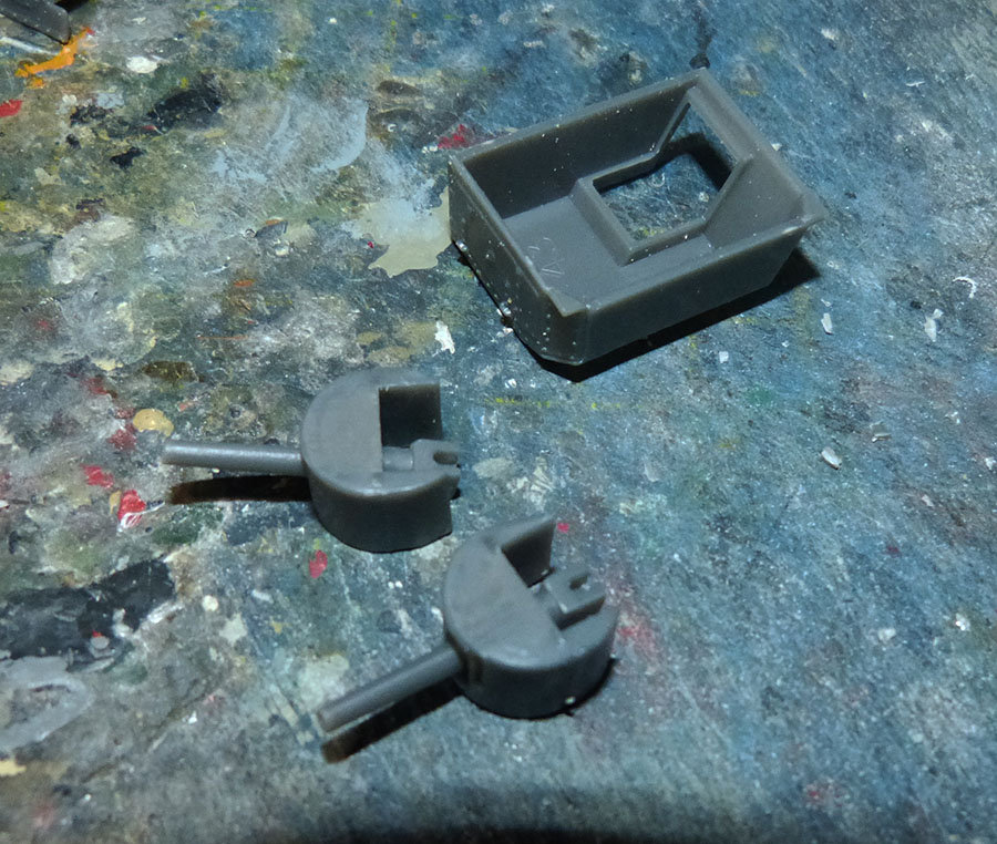 """From the box - Char Mk IV """"Tadpole"""" - Emhar - 1/72 *** Terminé en pg 2 201130120440517461"""