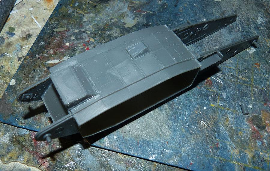 """From the box - Char Mk IV """"Tadpole"""" - Emhar - 1/72 *** Terminé en pg 2 201130120441283042"""