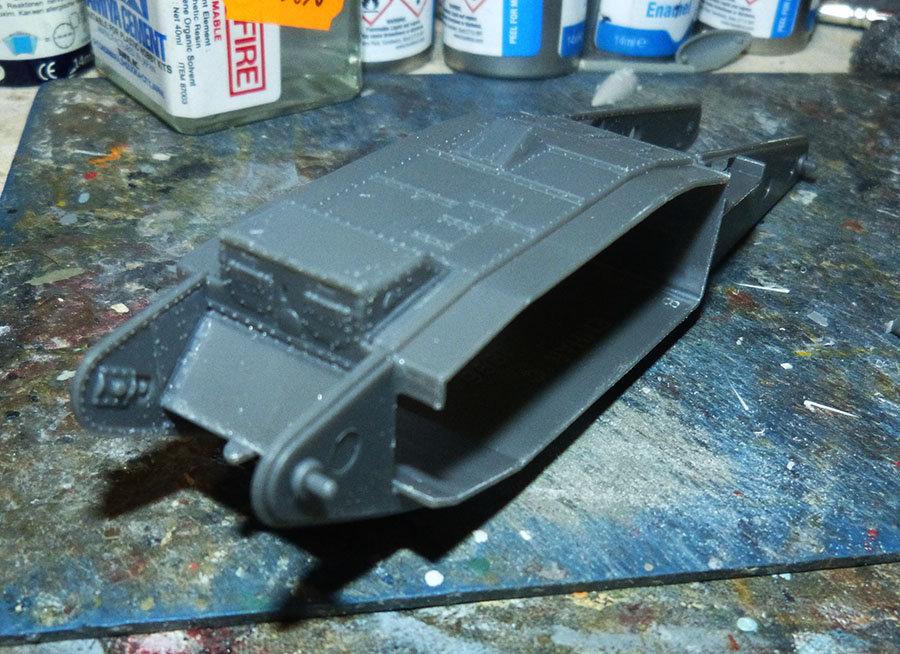 """From the box - Char Mk IV """"Tadpole"""" - Emhar - 1/72 *** Terminé en pg 2 201130120441532105"""