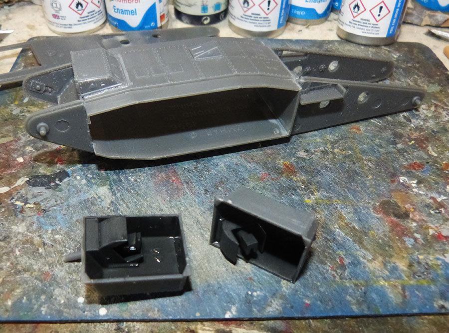 """From the box - Char Mk IV """"Tadpole"""" - Emhar - 1/72 *** Terminé en pg 2 201130120442301579"""