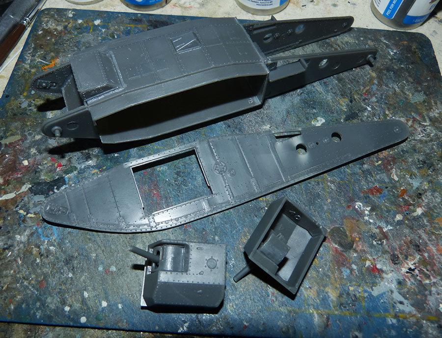 """From the box - Char Mk IV """"Tadpole"""" - Emhar - 1/72 *** Terminé en pg 2 20113012044256707"""