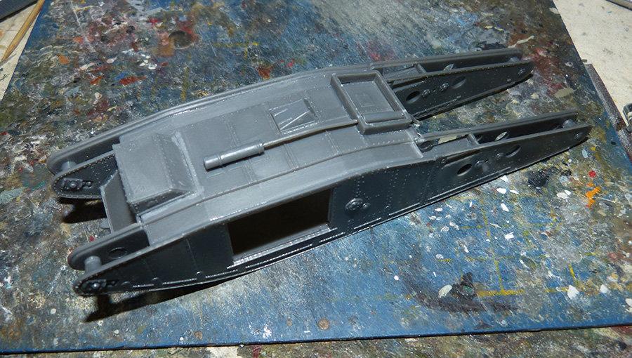 """From the box - Char Mk IV """"Tadpole"""" - Emhar - 1/72 *** Terminé en pg 2 20113012044373707"""