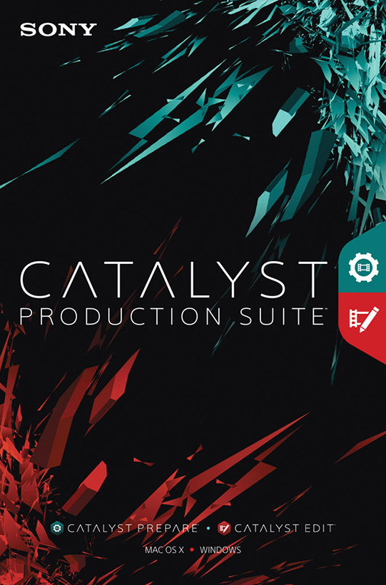 Poster for Sony Catalyst Production Suite