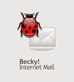 Poster for RimArts Becky Internet Mail