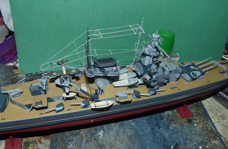 Croiseur lourd ADMIRAL GRAF SPEE Rio de La Plata 1939... Réf 81046 - Page 2 201201105245834860