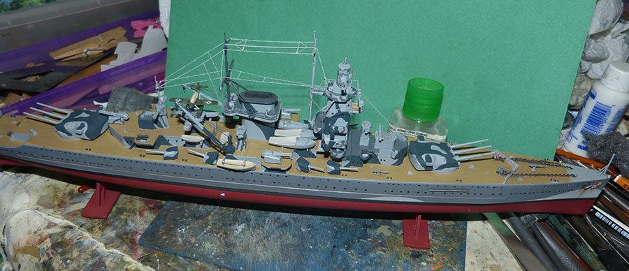 Croiseur lourd ADMIRAL GRAF SPEE Rio de La Plata 1939... Réf 81046 - Page 2 201201105246352738