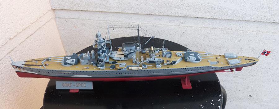 Croiseur lourd ADMIRAL GRAF SPEE Rio de La Plata 1939... Réf 81046 - Page 2 201201114649945383