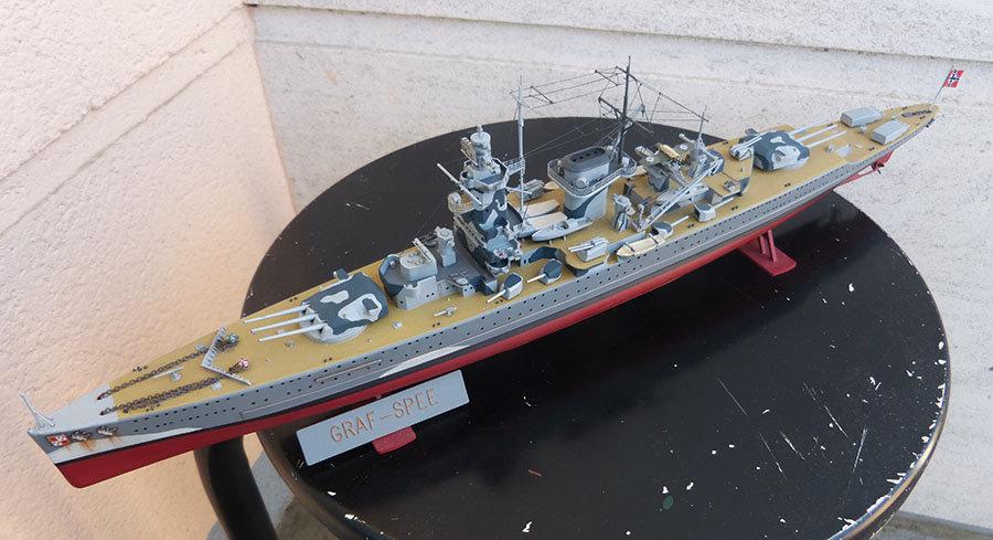 Croiseur lourd ADMIRAL GRAF SPEE Rio de La Plata 1939... Réf 81046 - Page 2 201201114650352378