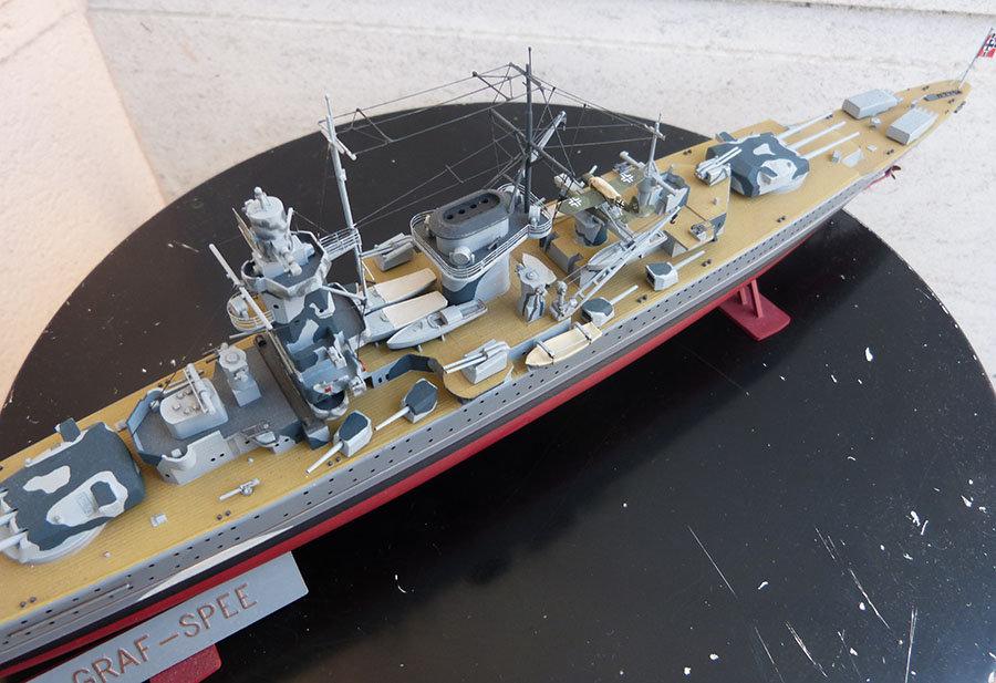Croiseur lourd ADMIRAL GRAF SPEE Rio de La Plata 1939... Réf 81046 - Page 2 201201114650603501