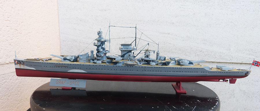 Croiseur lourd ADMIRAL GRAF SPEE Rio de La Plata 1939... Réf 81046 - Page 2 20120111465070441
