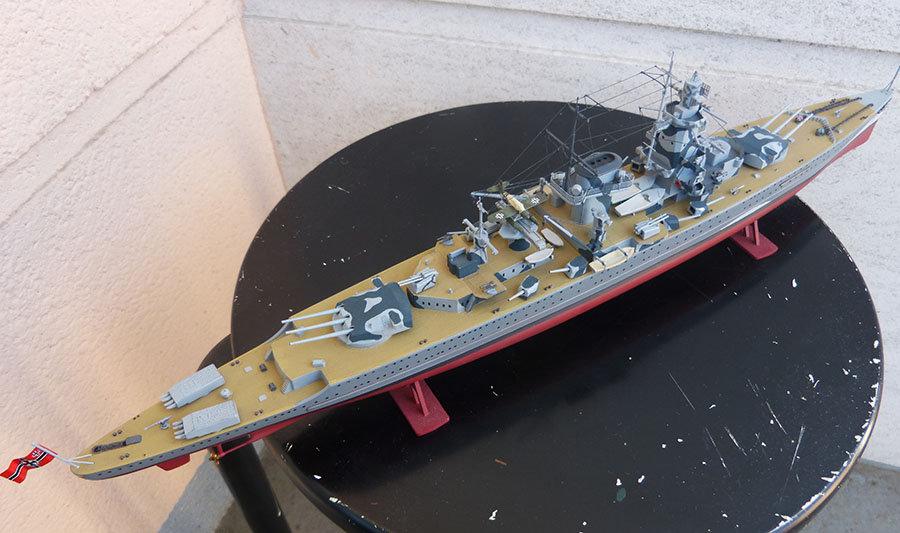 Croiseur lourd ADMIRAL GRAF SPEE Rio de La Plata 1939... Réf 81046 - Page 2 201201114651116214