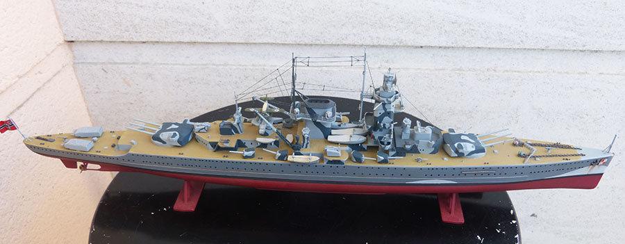 Croiseur lourd ADMIRAL GRAF SPEE Rio de La Plata 1939... Réf 81046 - Page 2 201201114651632559