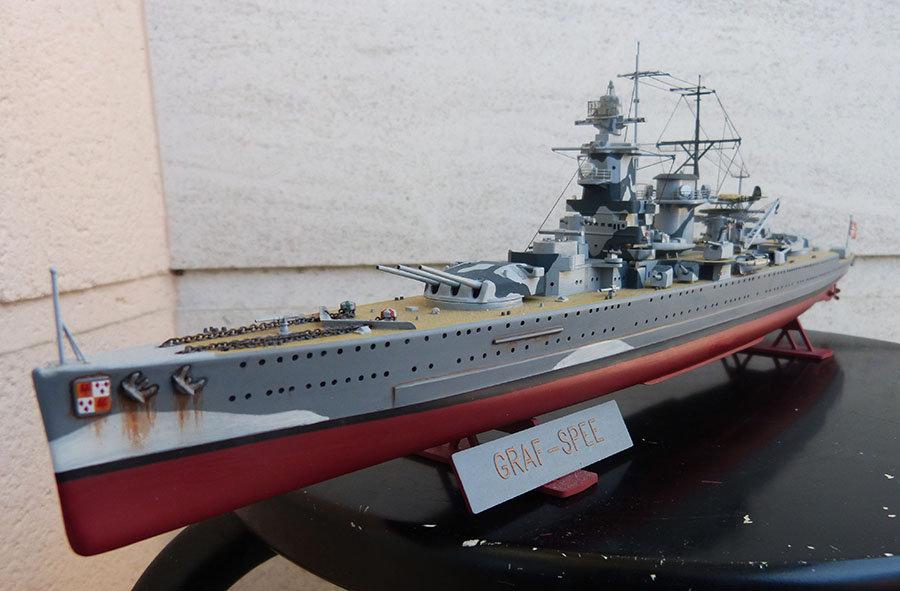 Croiseur lourd ADMIRAL GRAF SPEE Rio de La Plata 1939... Réf 81046 - Page 2 201201114652386232