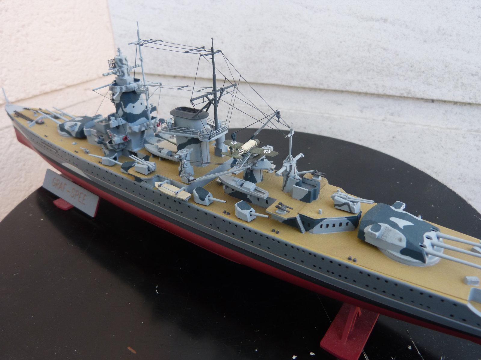 Croiseur lourd ADMIRAL GRAF SPEE Rio de La Plata 1939... Réf 81046 - Page 2 201201114653158676