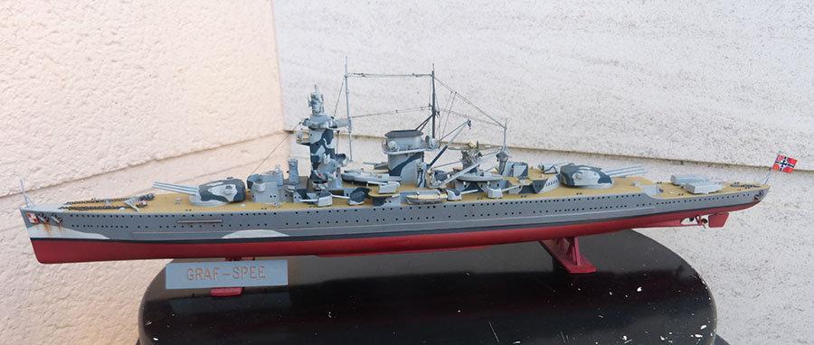 Croiseur lourd ADMIRAL GRAF SPEE Rio de La Plata 1939... Réf 81046 - Page 2 201201114653825450