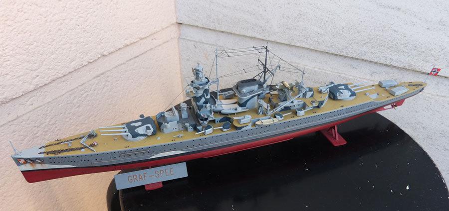 Croiseur lourd ADMIRAL GRAF SPEE Rio de La Plata 1939... Réf 81046 - Page 2 201201114654682544