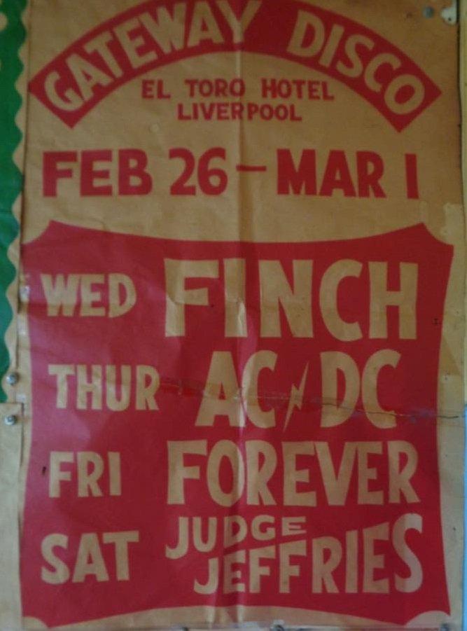 19750227 - AUS, Liverpool, El Toro Hotel