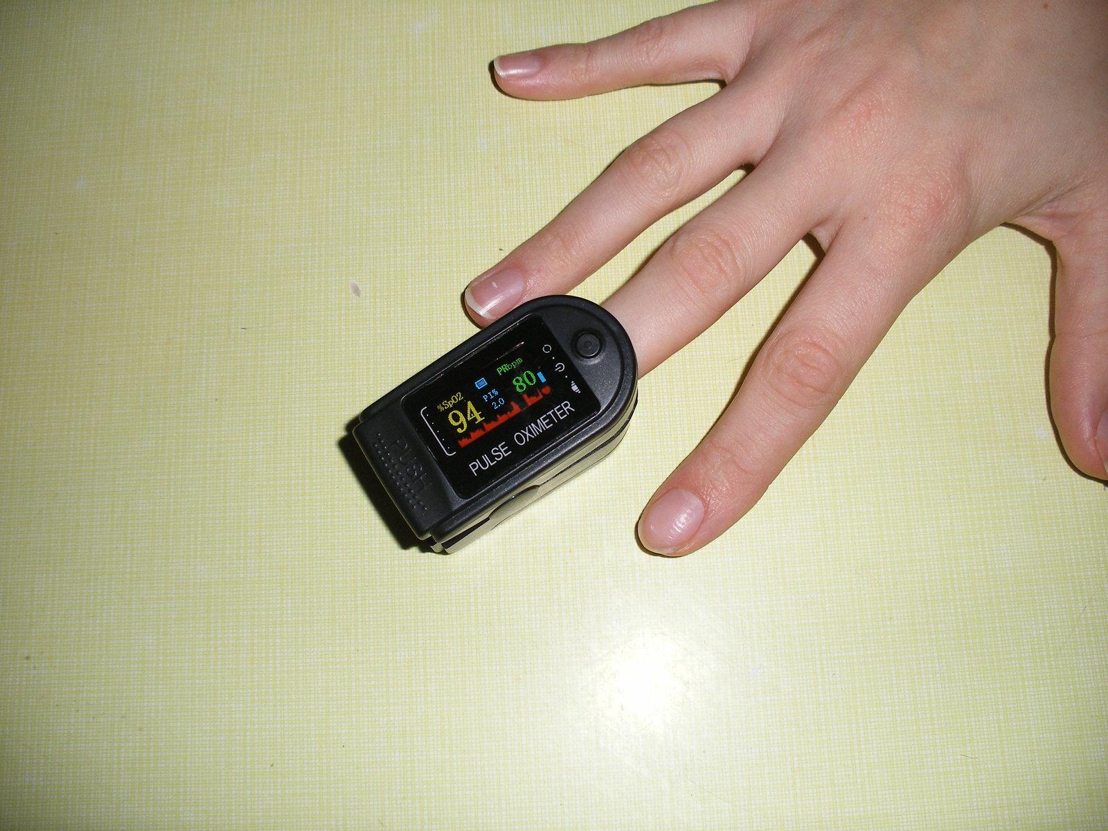 Surveiller sa santé, mesurer le taux d'oxygène 201204074820806680