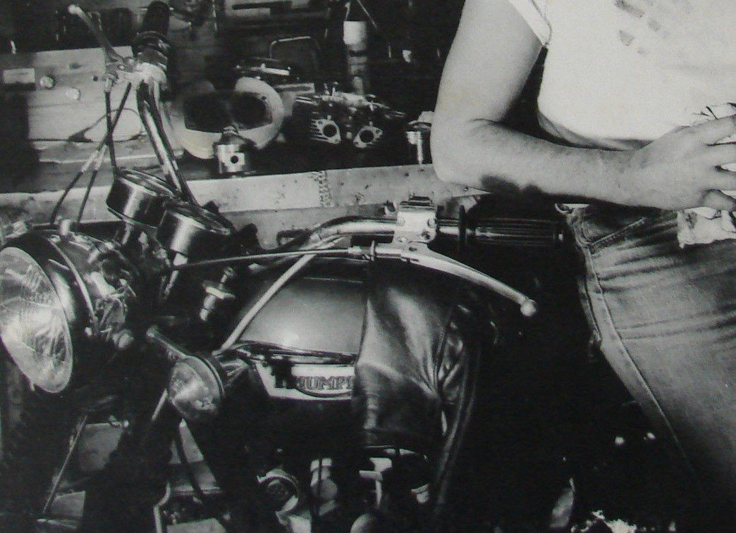 KAWASAKI 900 Z1 DE JOHNNY HALLYDAY ( 1974 ) 201205072408620718