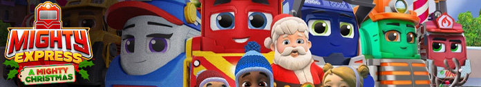Poster for Mighty Express: A Mighty Christmas