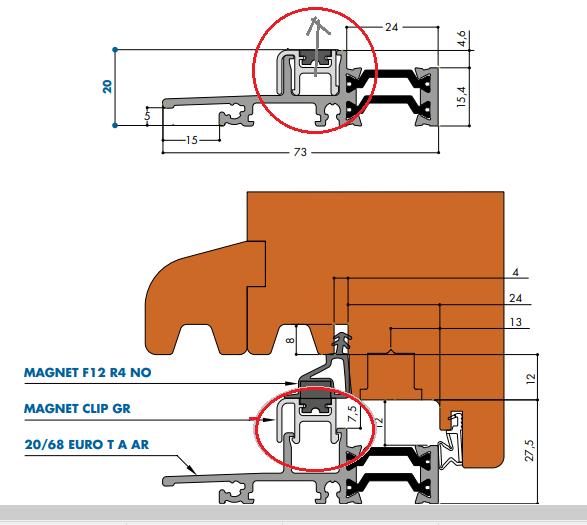 Projet et réalisation d'une double porte-battante thermique. 201211041649741601