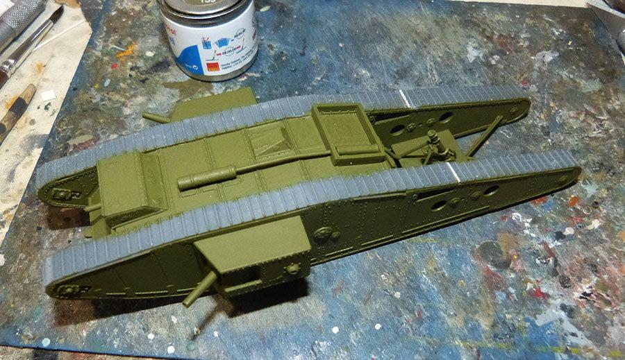 """From the box - Char Mk IV """"Tadpole"""" - Emhar - 1/72 *** Terminé en pg 2 20121307271891316"""