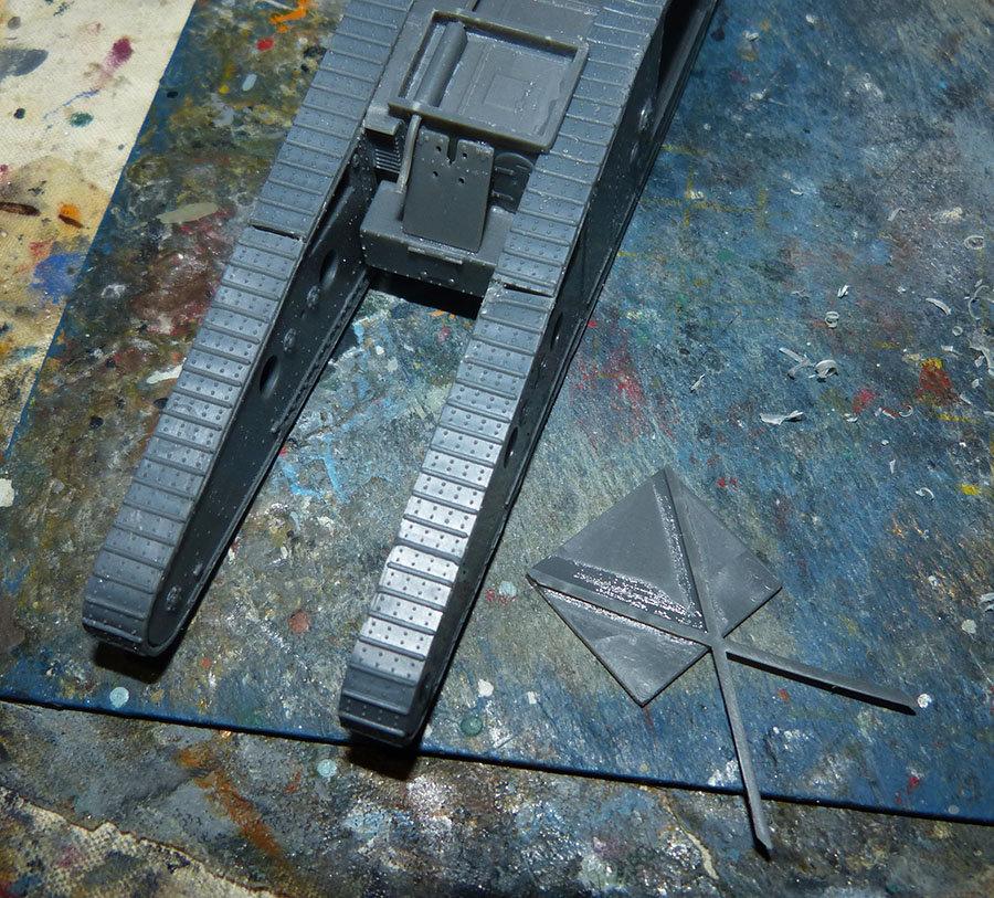 """From the box - Char Mk IV """"Tadpole"""" - Emhar - 1/72 *** Terminé en pg 2 201213073229368821"""